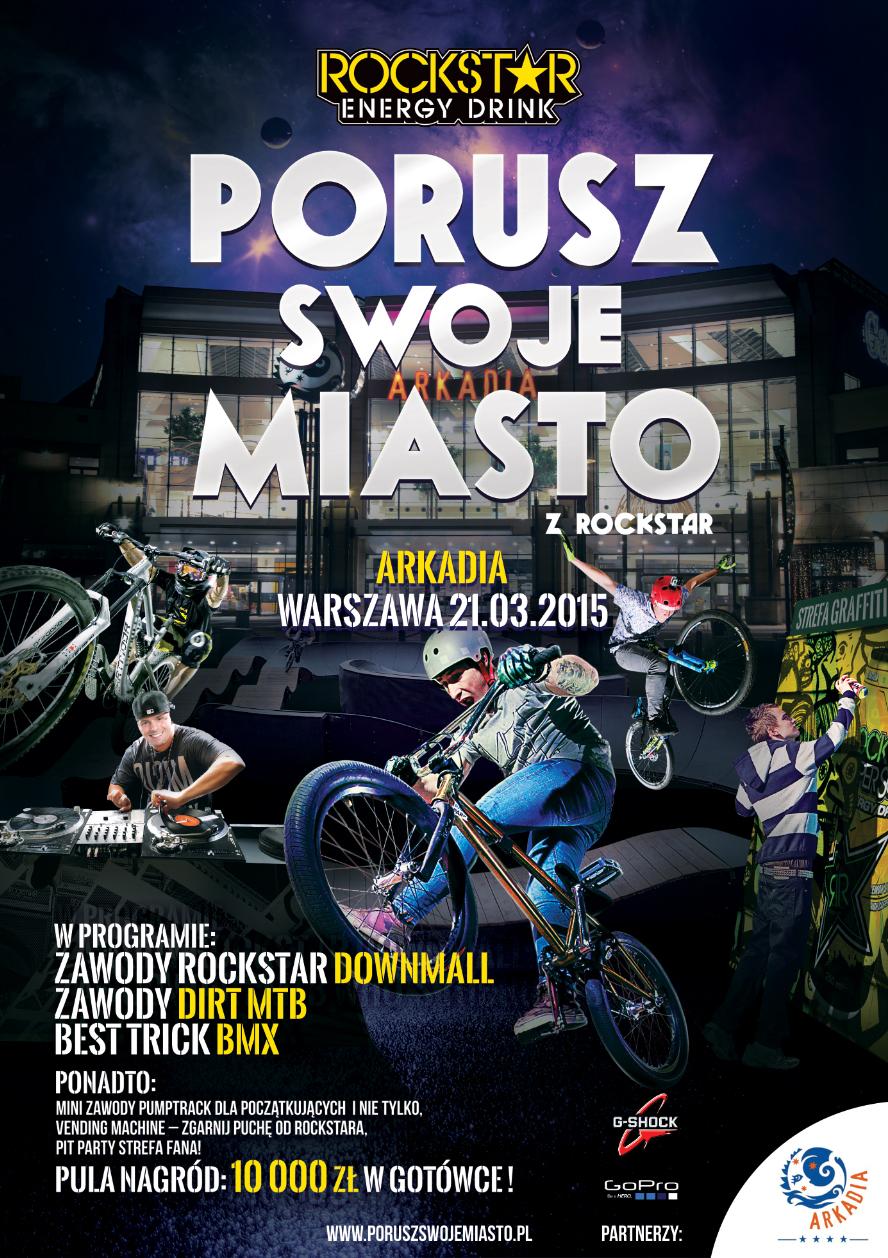 Plakat_RockstarPorusz Swoje Miasto
